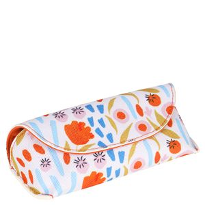 Floral glasses case