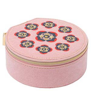 Embroidered jewellery box - medium