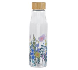 Floral Print Water Bottle