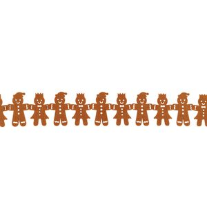 Gingerbread Garland Christmas Decoration