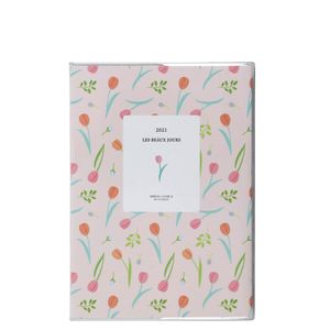 A5 Plastic Floral 2021 diary