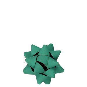 Turquoise paper gift bow