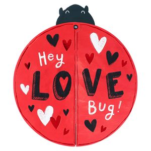 Love bug pivot wings card