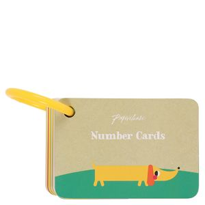 Kids Number Keyring Cards