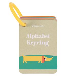 Kids Alphabet Keyring Cards