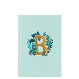 Letter B Notebook