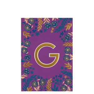 Letter G Notebook