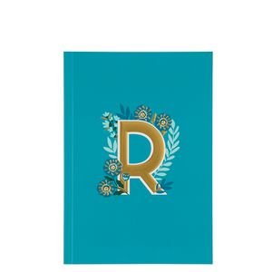 Letter R Notebook