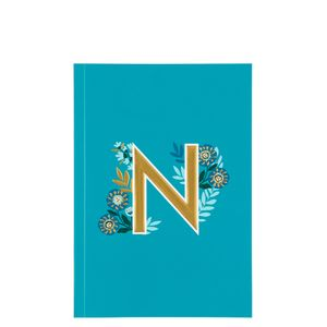 Letter N Notebook