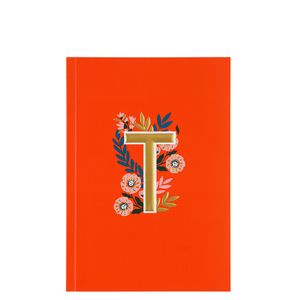 Letter T Notebook