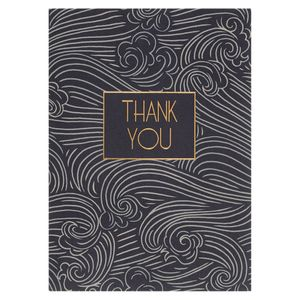 Waves thank you notecards - pack of 10