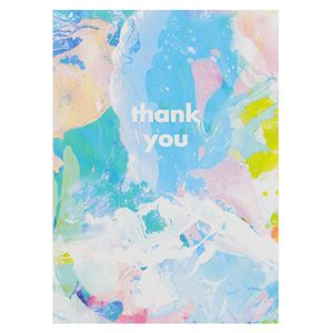 Pastel marble thank you notecards - pack of 10