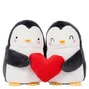 Penguin plush pair