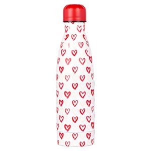 Ditsy heart bottle in box