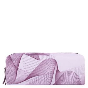 Square spiro print pencil case
