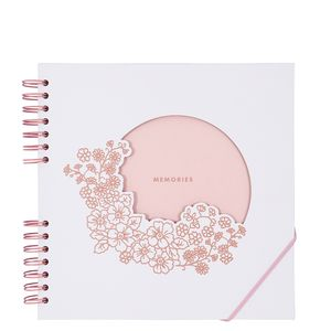 Floral medium scrapbook