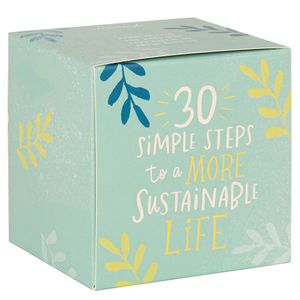 30 simple steps to a more sustainable life