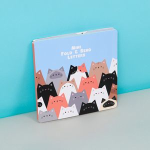 Cats small fold and send letter set