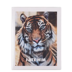 8x10 Tiger notebook