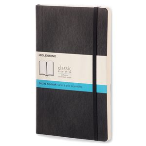 Moleskine classic notebook - dotted pages