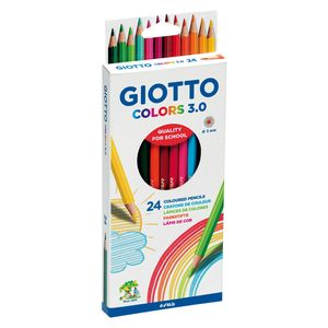 Giotto Colouring pencils - pack of 24