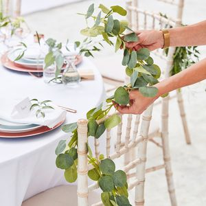 Wedding eucalyptus garland
