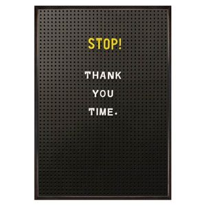 Stop! Thank you card