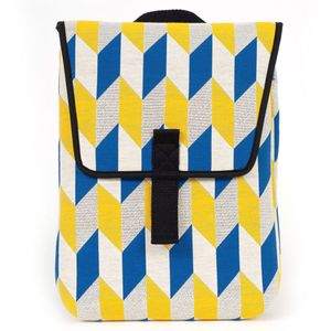 Pijama mini blue & yellow backpack