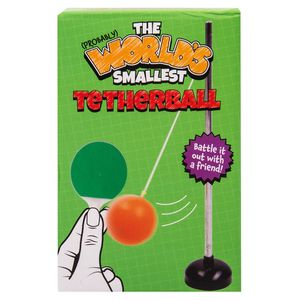 The world's smallest tether ball game