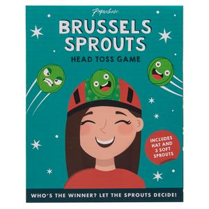 Brussels sprout head toss