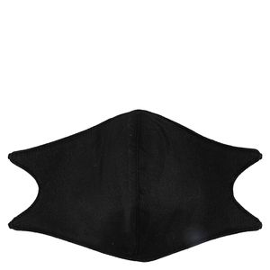 Black face coverings - 2 pack