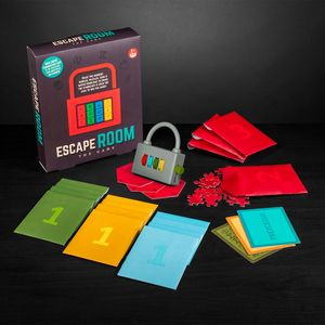 Escape room party game
