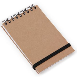 Brown Kraft A7 lined notebook main image