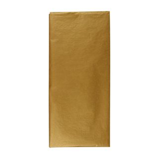 Gold tissue paper - 3 sheets main image
