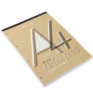 A4 Eco Lined Refill Pad  main image
