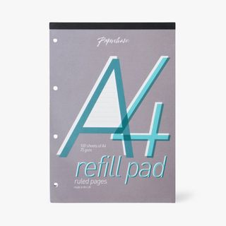 A4 White Lined Refill Pad  main image
