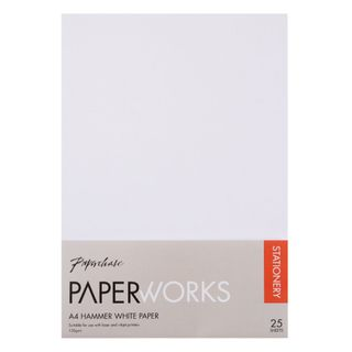 Paperworks hammer white A4 paper - pack of 25 main image