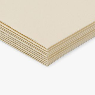 Paperworks laid champagne C6 envelopes - pack of 10 main image