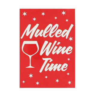Mulled wine time Christmas postcard main image