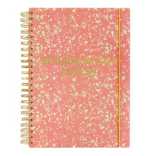 A4 She believed she could slogan lined notebook main image