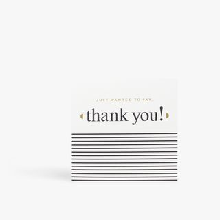 Just Wanted To Say Thank You Card  main image