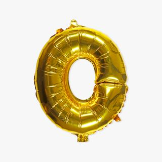 Letter O gold 16 inch balloon main image