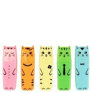 Pastel cat highlighters - set of 5 main image