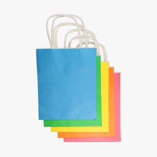 Multi colour gift bags - pack of 5 main image