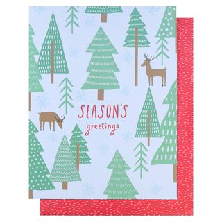 Pop out reindeer Christmas card main image