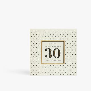 Pearl anniversary 30 years together card main image