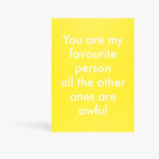 Objectables favourite person card main image