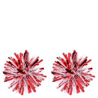 Red and white firework gift bow - pack of 2 main image