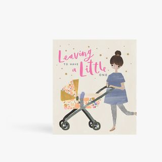 Leaving to have a little one card main image