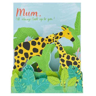 Look up to you pop up Mother's day card main image